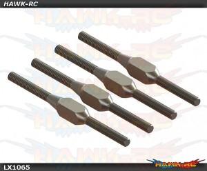 Mini Protos - Steel Turnbuckle Pitch Linkage, 4 PC