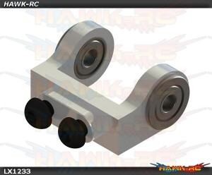 Mini Protos - Ultra Tail Case - Bell Crank Support - Silver
