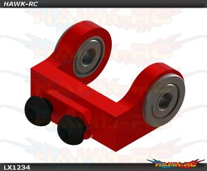 Mini Protos - Ultra Tail Case - Bell Crank Support - Red