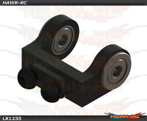 Mini Protos - Ultra Tail Case - Bell Crank Support - Black