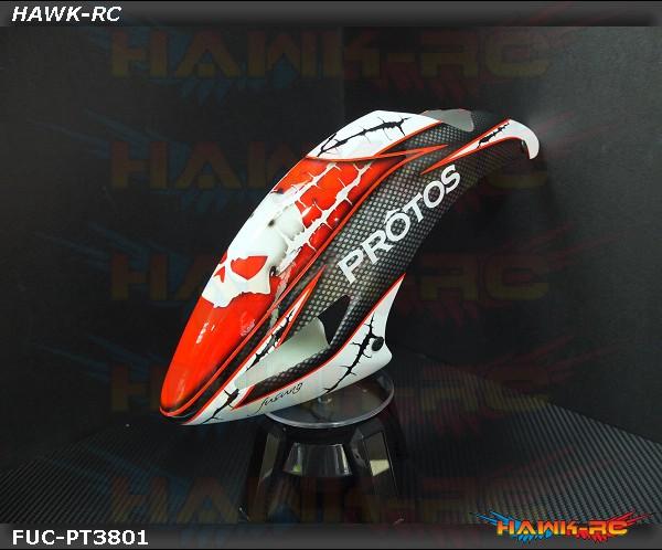 FUSUNO Masky Airbrush Fiberglass Canopy Protos 380