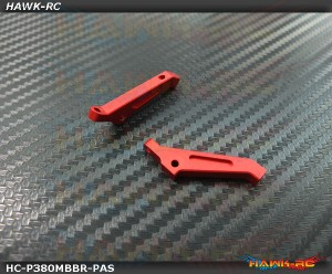 Hawk Creation MSH PROTOS 380 Metal Pitch Arm Set (Red)