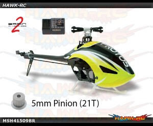 PROTOS 380 EVOLUZIONE (YELLOW) KITS (Included Brain 2)