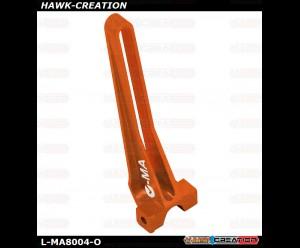L-MA Precision Aluminum Anti-Rotation Bracket for OMPHOBBY M1 (Orange)