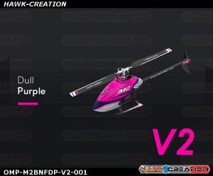 OMP Hobby M2 RC Helicopter V2 Version OMPHobby M2 -V2 (Dull Purple) with Bonus Pack
