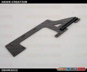OMPHOBBY M2 3D Helicopter Carbon fiber Right-Lower(RL) frame (1pcs) OSHM2022