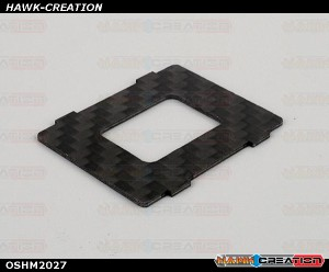 OMPHOBBY M2 3D Helicopter Carbon fiber bottom plate (1pcs) OSHM2027
