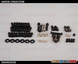OMPHOBBY M2 3D Helicopter Full set screws (1set) OSHM2043