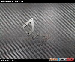 OMPHOBBY M2 3D Frame Rear Reinforcement Plate  OSHM2100