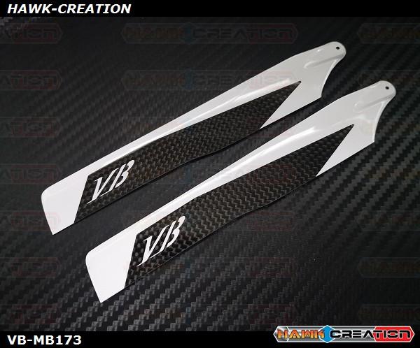 VB 173mm Carbon Main Blades - OMP M2 / LOGO 200