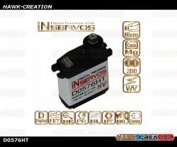 Inservos 7.4V 4.2kg Metal Gear Micro Servo D0576HT-HV 3pcs Combo