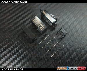 BlueArrow H0988USH-i Plastic Servo Case Set
