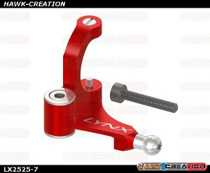 LYNX  - FireBall 280 - Tail Belt Crank, Red Color