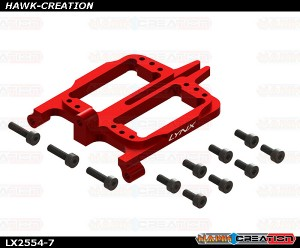 LYNX  - FireBall 280 - Front Servo Support, Red Color