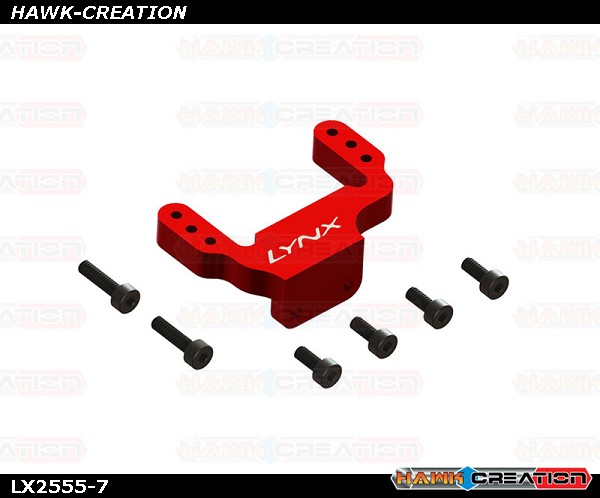 LYNX  - FireBall 280 - Back Servo Support, Red Color