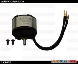 LX2633 - EOX 1911 - 3600 KV MOTOR - OXY2