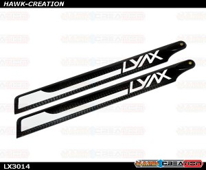 LX3014 - Lynx 193mm Main Blades, set