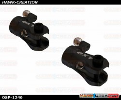 OXY2 CNC Aluminum Tail Grip - Black - OXY2