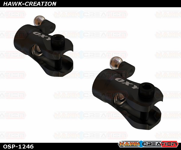 OXY2 CNC Aluminum Tail Grip - Black - OXY2