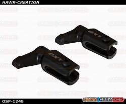 OXY2- CNC Aluminum Main Grip, Black