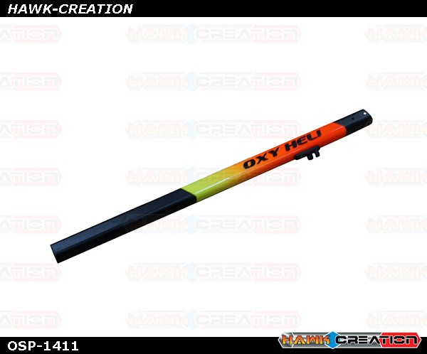 OXY2 Stretch Yellow-Orange Painted Tail Boom