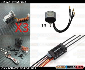 OXY2 POWER Electronic Parts Combo Set-0518025A1611 [OXY2CB-0518025A1611]