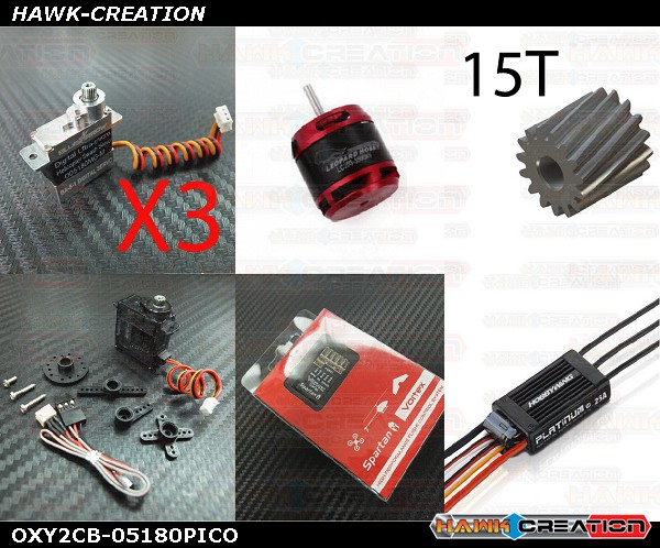 OXY2 POWER Electronic Parts Combo Set-05180PICO [OXY2CB-05180PICO]