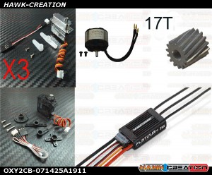 OXY2 POWER Electronic Parts Combo Set-071425A1911 [OXY2CB-071425A1911]