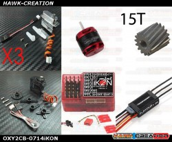 OXY2 POWER Electronic Parts Combo Set-0714iKON [OXY2CB-0714iKON]