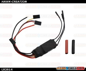 LX2614 - Hobby Wing Platinum 25A V4 Brushless ESC