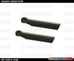 OXY2 - 38mm Tail Blade, Black - OXY2