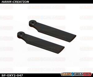 OXY2 - 41mm Tail Blade, Black - OXY2