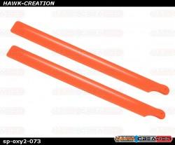 OXY2 - Plastic Main Blade 190mm , Orange - OXY2
