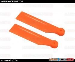 OXY2 - 38mm Tail Blade Orange - OXY2