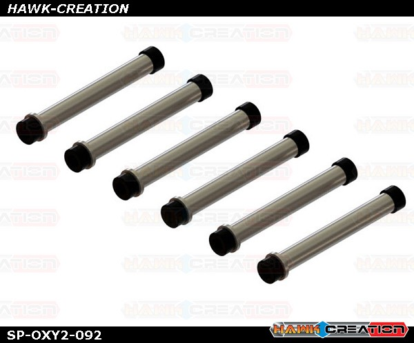 OXY2 - Qube Spindle Shaft only, 6pc - set
