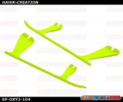 OXY2 - Plastic Landing Gear Skid, Left / Right - Yellow - OXY2