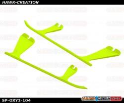 OXY2 - Plastic Landing Gear Skid, Left / Right - Yellow - OXY2