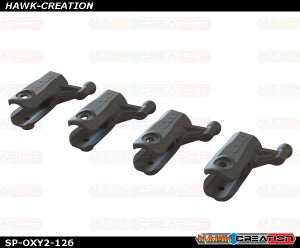 OXY2 190 Sport - Tail Grip Only Plastic, 4Pcs - OXY2