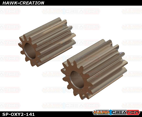 OXY2 - Straight Pinion 11T, 13T - 2.5mm Motor Shaft