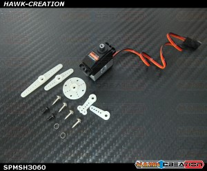 Spektrum RC H3060 Sub-Micro Digital Metal Gear Tail Servo