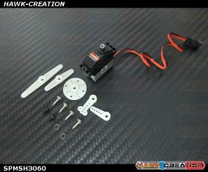 Spektrum RC H3060 Sub-Micro Digital Metal Gear Tail Servo