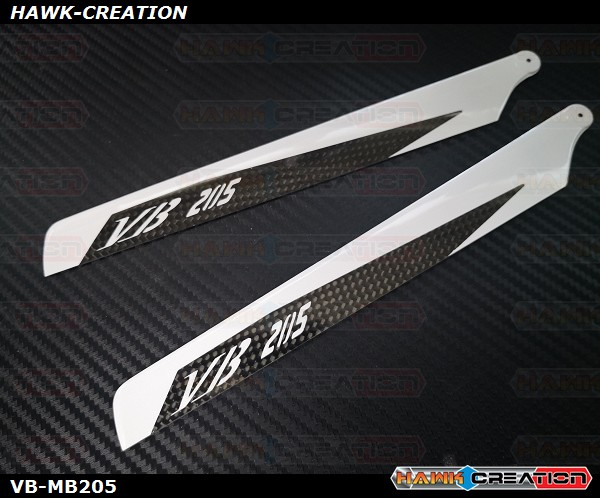 VB 205mm Carbon Main Blades - OXY2