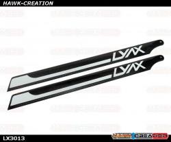 LX3013 - Lynx 287mm Main Blades, set (OXY3)