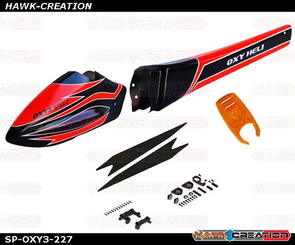SP-OXY3-227 OXY3 Speed Fuselage, Orange