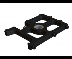 OXY4 Middle Main Shaft Bearing Block, Black