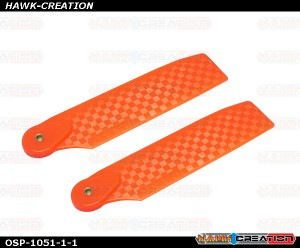OXY4 Tail Blade 68mm - Orange
