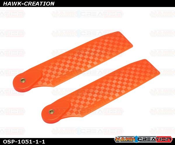 OXY4 Tail Blade 68mm - Orange