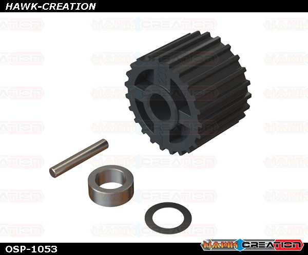 OXY4 23T Tail Pulley