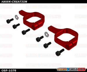 OXY4 Pro Edition Tail Servo Mount, Red