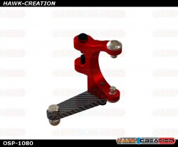 OXY4 Pro Edition Tail Bell Crank - Red